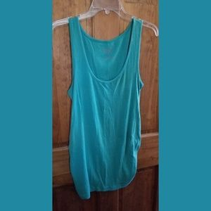 Old Navy maternity size Med M turquoise tank top